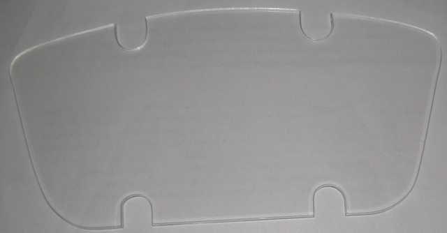 Стекло шкалы приборной панели ЗАЗ 965