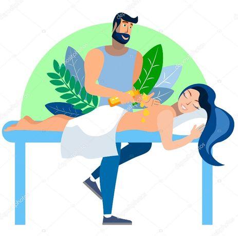 Лечебный массаж в Житомире. Лимфодренажный, антицеллюлит