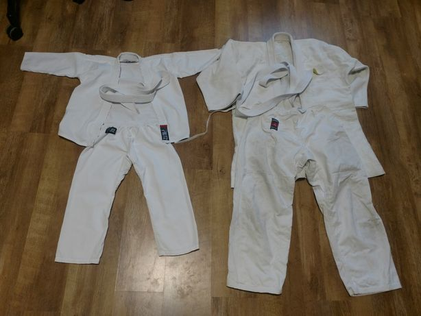Кимоно 110-120 и 170-180 Защита для паха ,штанга 70 см блины 6*1