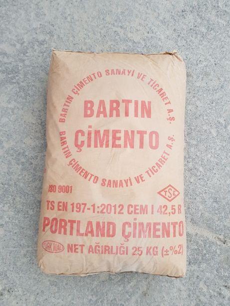 Доставка ,Цемент М500 Турецкий Марка Bartin. При опте скидки!