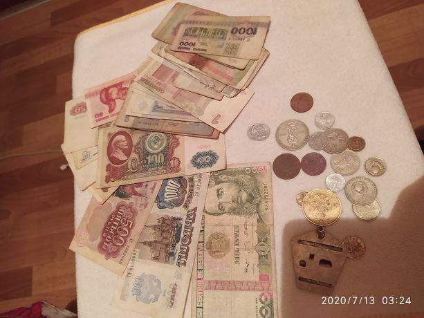 Коллекция монеты,боны