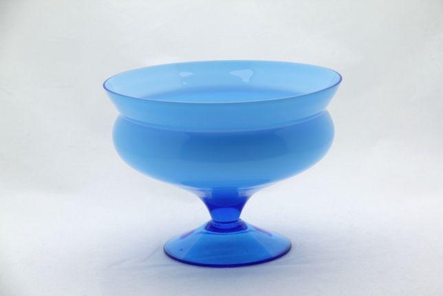 Owocarka puchar cukiernica szklany wysokość 14m vintage New LOOK