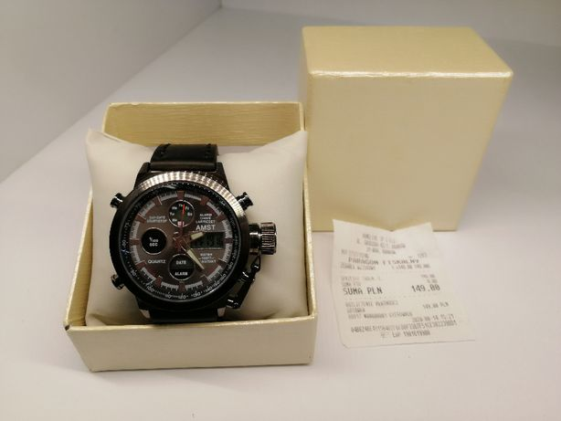 zegarek naręczny wojskowy gwarancja sklep