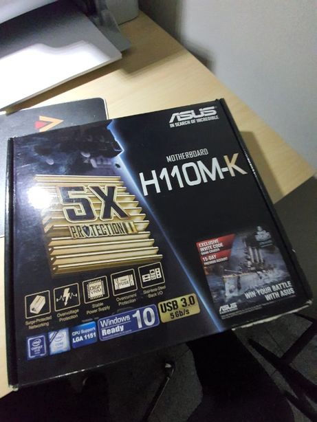 Płyta Asus H110M-K LGA 1151