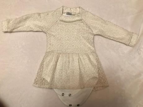 Нежнейшее платье бодик для малышки