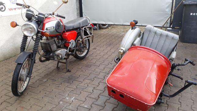 MZ 250z wózkiem bocznym- motobazar-prl.pl