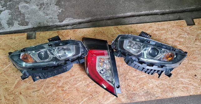 Civic 2016+ фари оригінал, задній фонарь