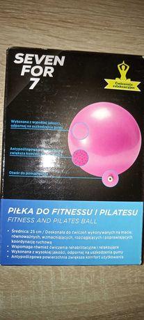 Pilka do fitnessu i pilatesu 25cm