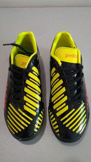 Обувь футбольная сороконожки подростковая U-OB-3429-BKG