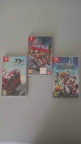 Jogos Varios Nintendo Switch (Novos e Selados)