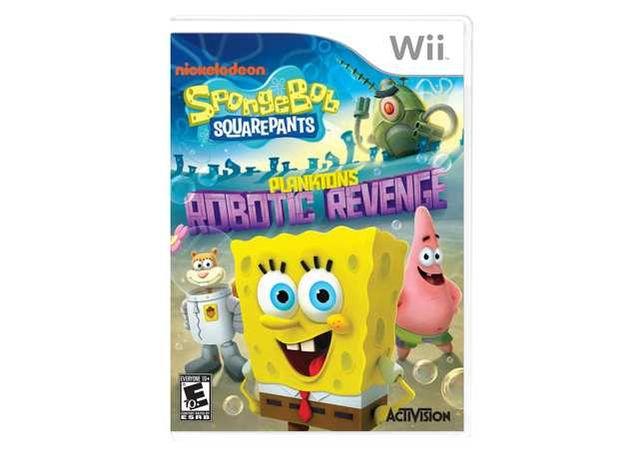 Wii - Jogo SpongeBob SquarePants