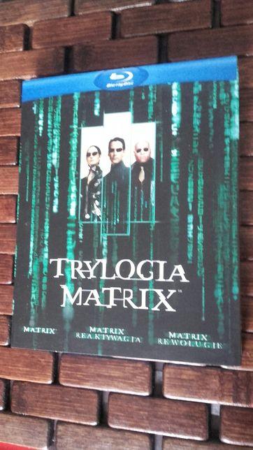 Matrix Trylogia blu-ray