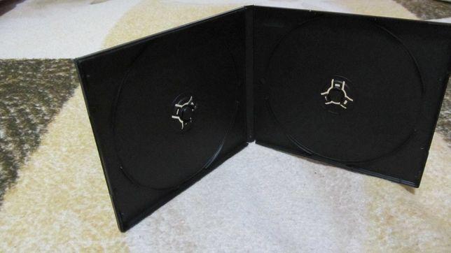 Коробки (боксы) новые VideoCD на 2 диска (Китай, черные)!
