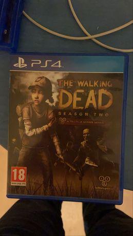 Jogo ps4 the walking dead