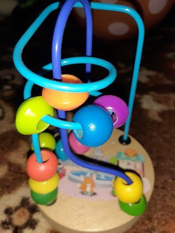 Пальчиковий лабіринт, дерево, лабиринт, плюс конструктор в подарок