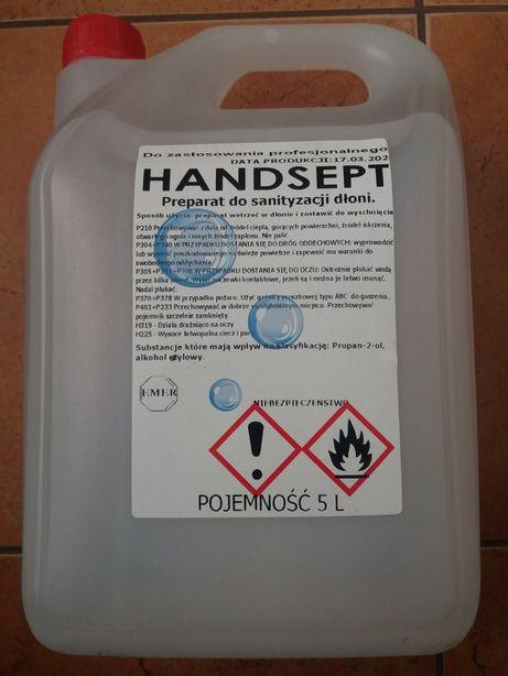 Plyn do dezynfekcji odkażania dłoni 5L