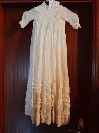 Vestido antigo de batizado
