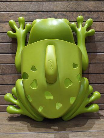 Boon duża żaba organizer na zabawki kąpielowe ideał