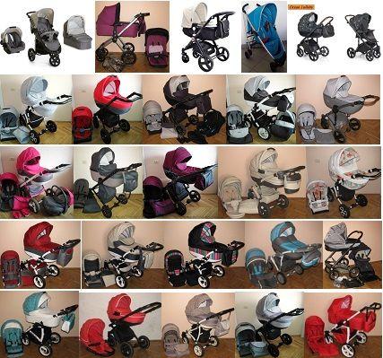 Б/В та НОВІ коляски СКЛАД 2в1, 3в1 різні виробники та моделі