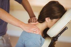 Masaż biurowy office Mandala Massage Clinic