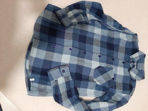 Koszula chłopięce Esprit flanelka w kratę 12-13lat