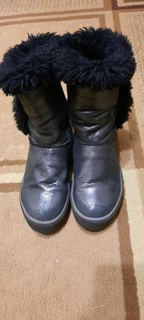 Шкіряні чоботи для дівчинки