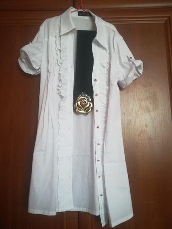 Нова блузка з поясом