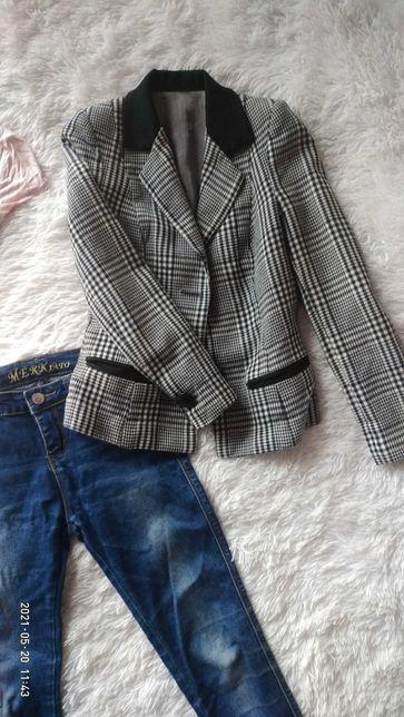Пиджак в гусиную лапку Италия размер XXS/XS или подростку