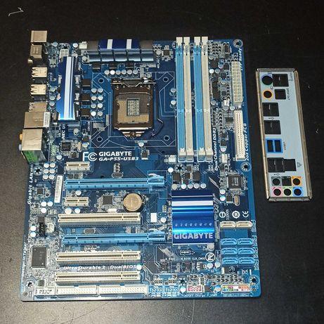 Материнская плата Gigabyte GA-P55-USB3 - P55 - 1156