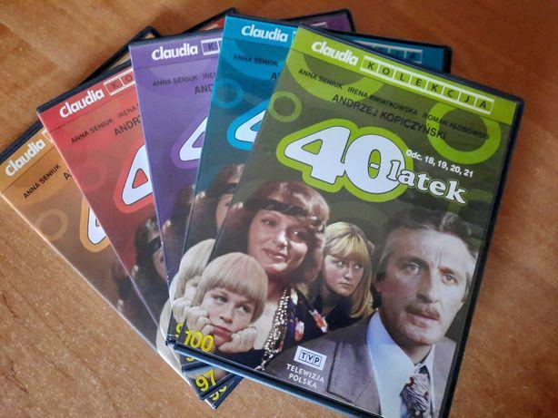 40 latek serial DVD