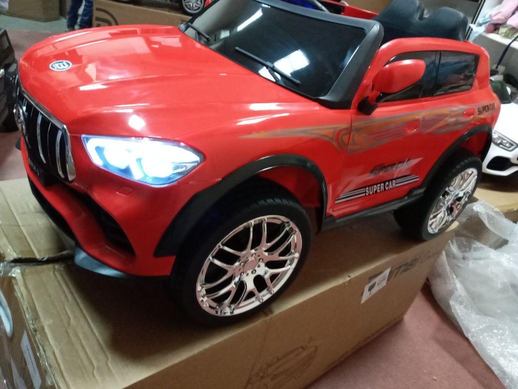 Акция ! Электромобиль Toyota 4WD!Сиденье кожаное! 2 МЕСТНАЯ.(3цвета)