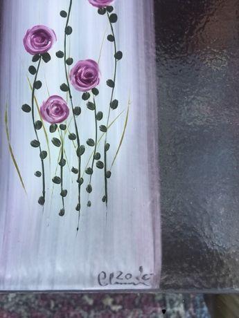 Patera recznie malowana nowa