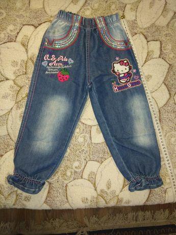Детские джинсы 2-4 годика.