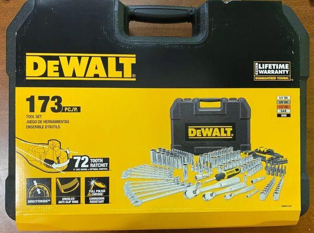 Dewalt DWMT41019 комбинирований набор инструмента 173 шт. в кейсе
