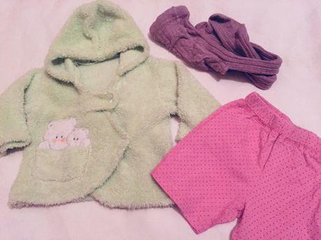 Пакет одежды на девочку (1-12 месяцев)