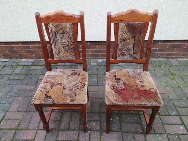 2 Krzesła drewniane