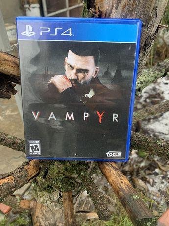 Диск игра Вампир Vampyr (PS4)