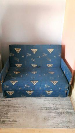 Łóżko rozkładane jednoosobowe szerokie