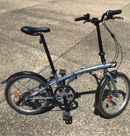 Bicicleta tilt 120 dobrável roda 20