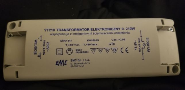 Transformator elektroniczny Govena EMC