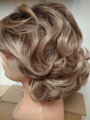 Peruka włosy jak naturalne