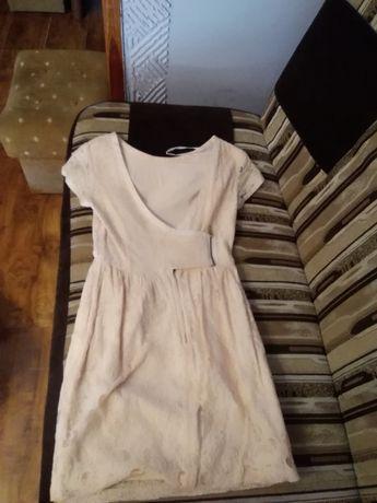 Sukienka KORONKOWA H&M 36