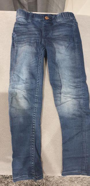 Spodnie jeansowe 110cm