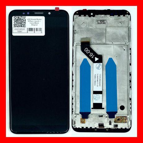 ˃˃Дисплей з рамкою Xiaomi Redmi 5+ Plus Модуль Black Note Купити ОПТ