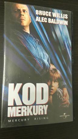 Film: Kod Merkury(1998) Mercury Rising kaseta wideo VHS sensacejny
