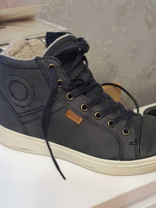Продам зимние ботинки Экко 35размера в хорошем состоянии Алексеевка - изображение 1