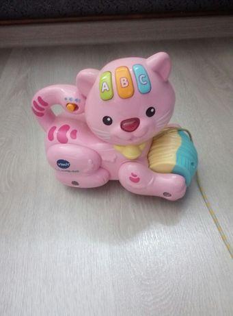 Котик игрушка говоряща