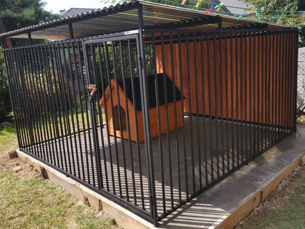 Kojec dla psa Boks Klatka buda 3x4m