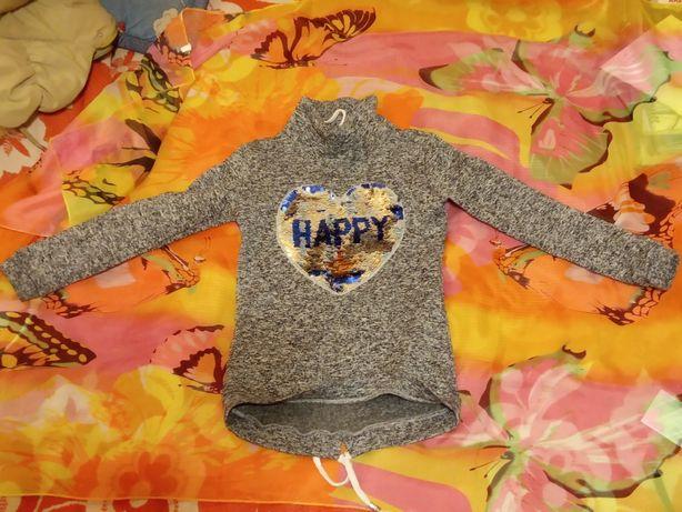 Толстовка ‹HAPPY› для девочки
