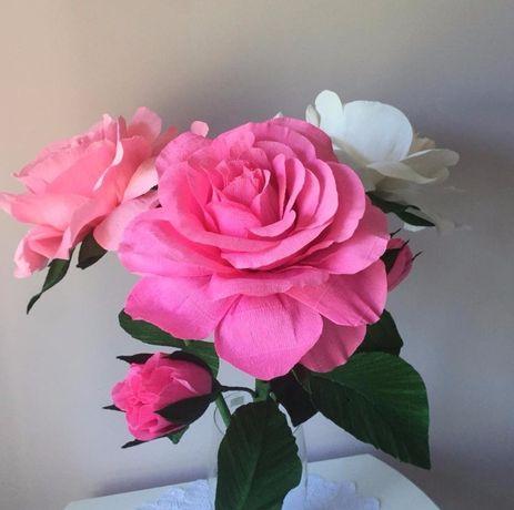 Великі троянди для декору весілля. Оренда або продаж